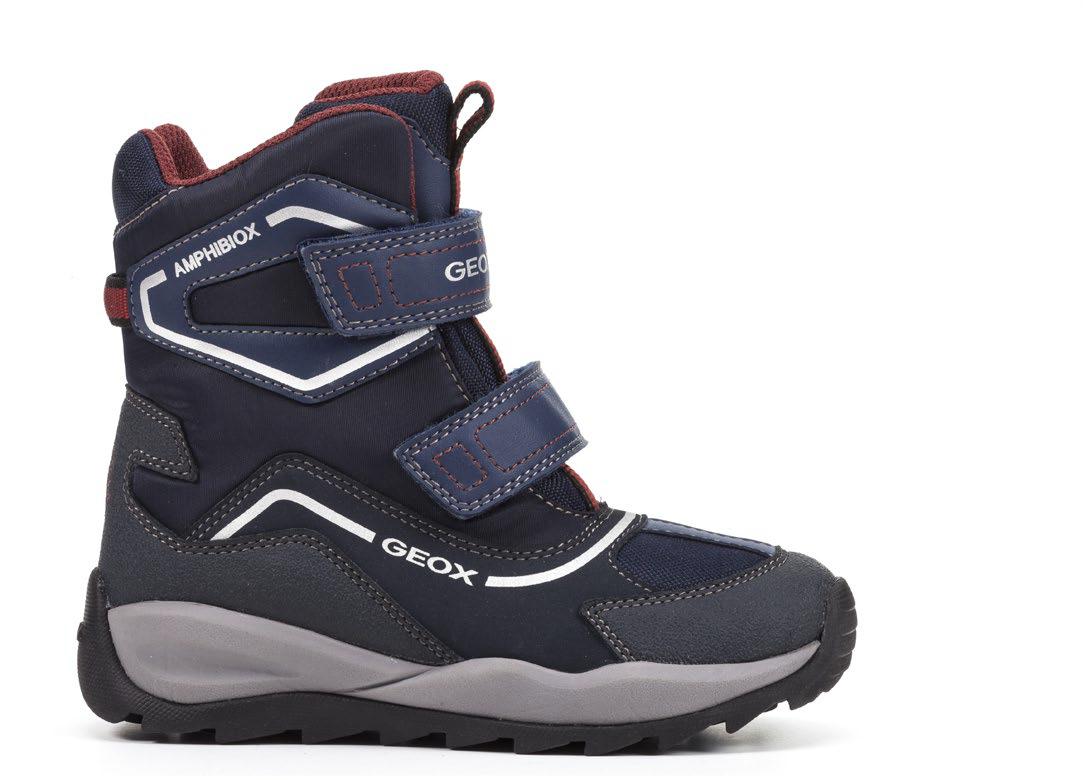 c6082337330 dětská zimní obuv Geox J740BE C4335