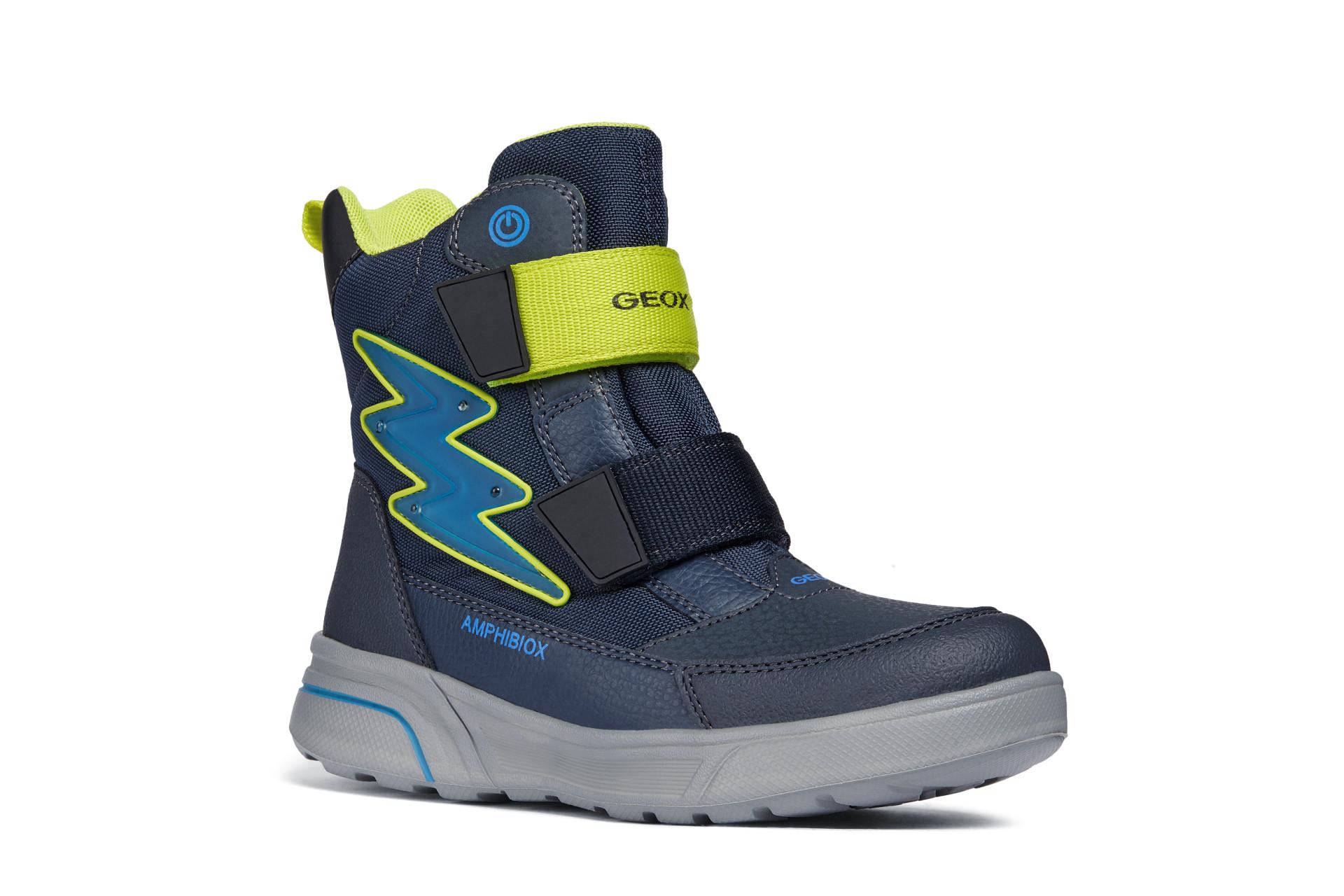 dětská zimní obuv Geox J847UC C0749  9b321d98bd