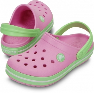 db5e3c77e30 dětské pantofle Crocs Crocband Kids carnation empty